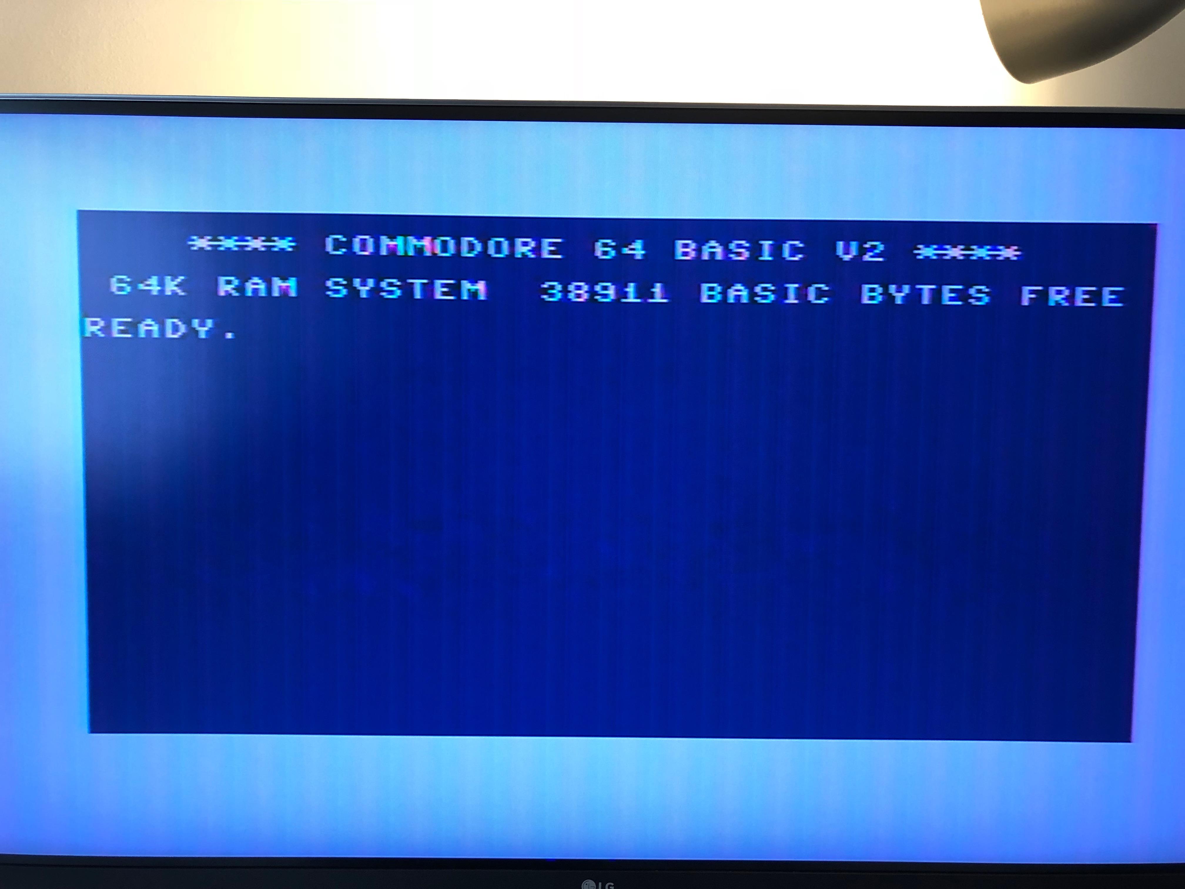 fuzzy c64 display.JPG
